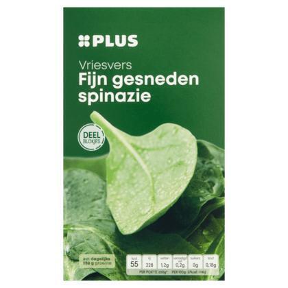 Spinazie, Vriesvers (doos, 450g)