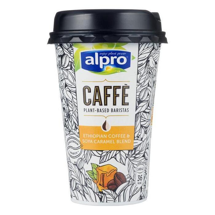 Alpro Coffee with soya drink, caramel, Caffè (235ml)