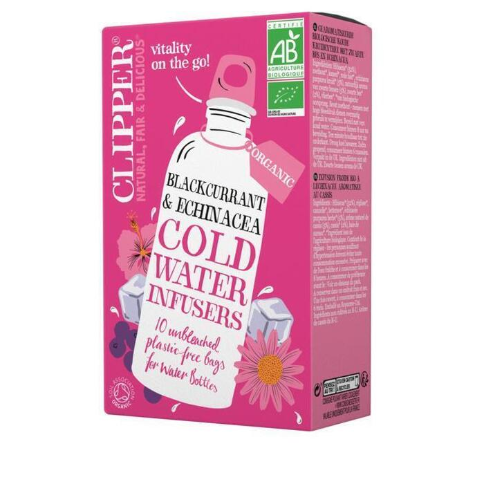 Clipper Cold Water Inf Blackcurrant (10 × 27g)