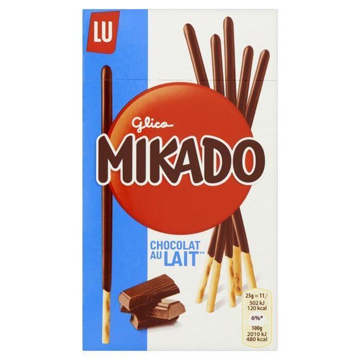 LU Mikado biscuitstokjes melkchocolade (75g)
