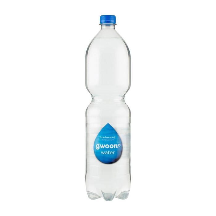 g'woon Bronwater koolzuurvrij (1.5L)