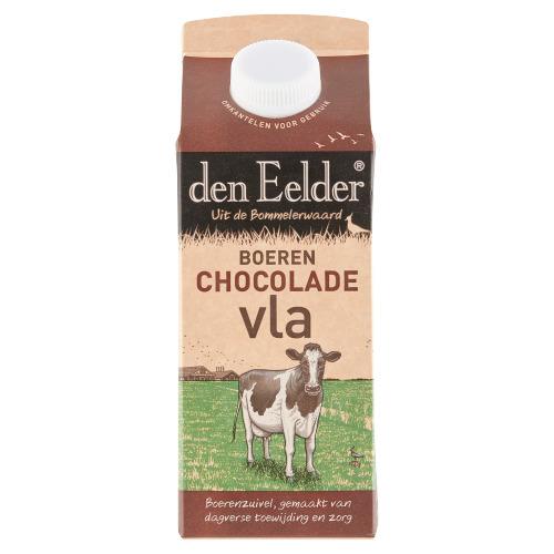 Echte Boeren Chocoladevla (pak, 0.75L)