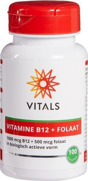 Vitamine B12 met Folaat 500 mcg