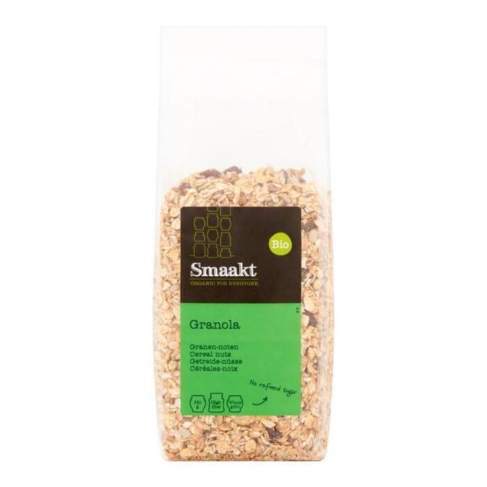 Smaakt Granola granen noten bio (350g)