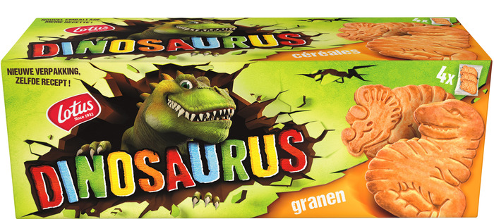 Dinosaurus granen 4-pack (175g)