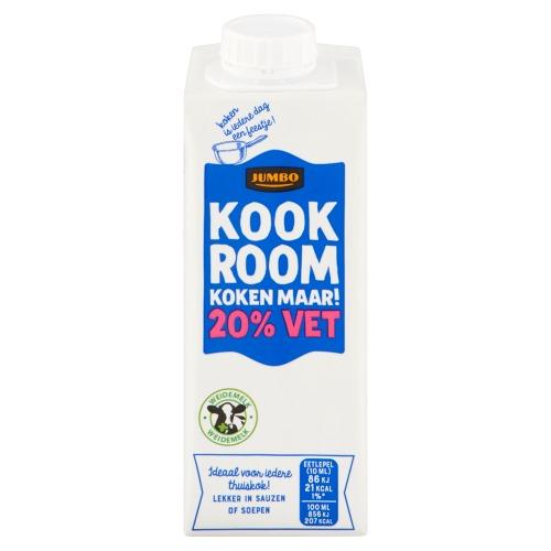 Jumbo Kookroom 20% Vet 250ml (250ml)