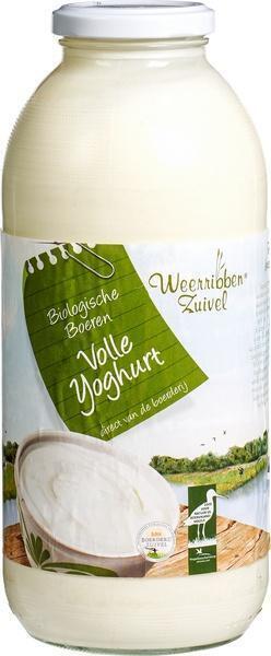 Volle yoghurt (1L)