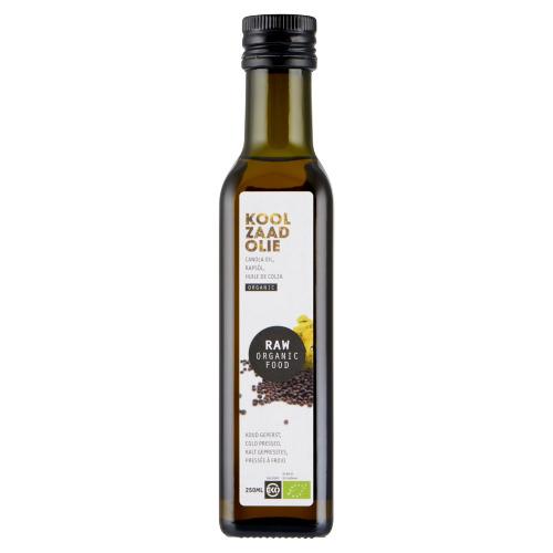 Raw Organic Food Koolzaadolie 250 ml (Stuk, 250ml)
