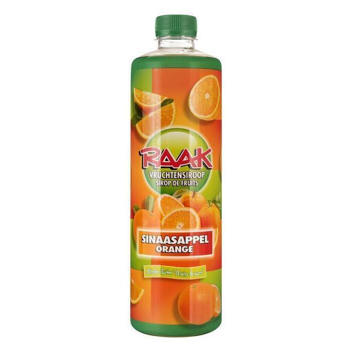 Vruchtensiroop sinaasappel (0.75L)