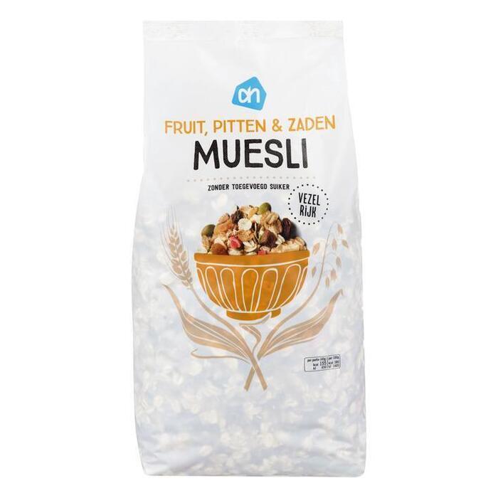 AH Muesli fruit, zaden & pitten (1kg)