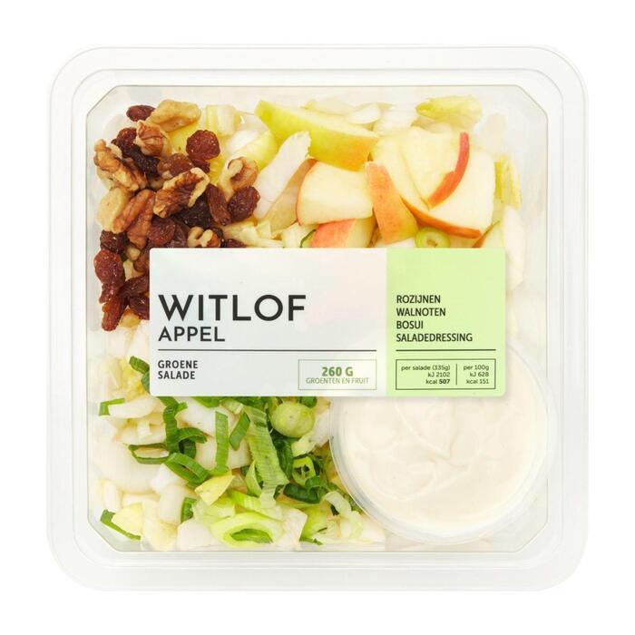 Slaschotel witlof appel (335g)