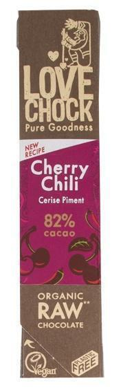 100% Raw Chocolate Cherry/Chili (40g)