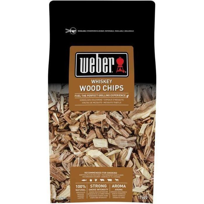 Weber Whiskey Wood Chips 0,7 kg (700g)