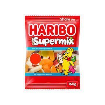 Haribo Supermix Share Size 160 g (160g)