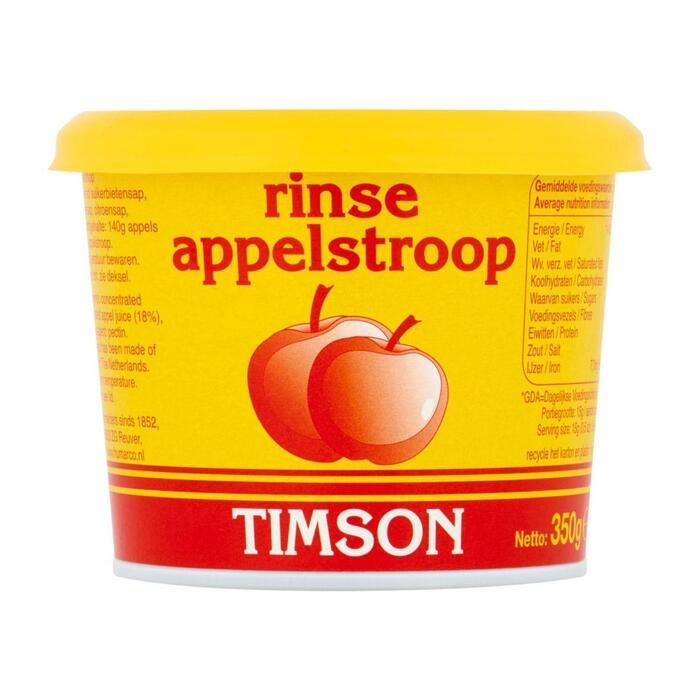 Timson Appelstroop  350Gr (kartonnen bakje, 350g)