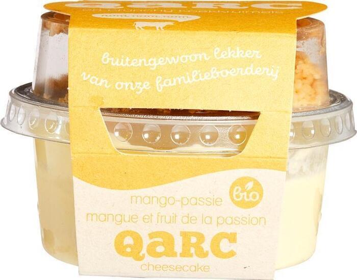 Mango passievruchtkwark met koekkruimels (135g)