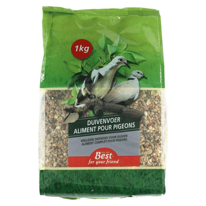 Best For Your Friend Duivenvoer (1kg)