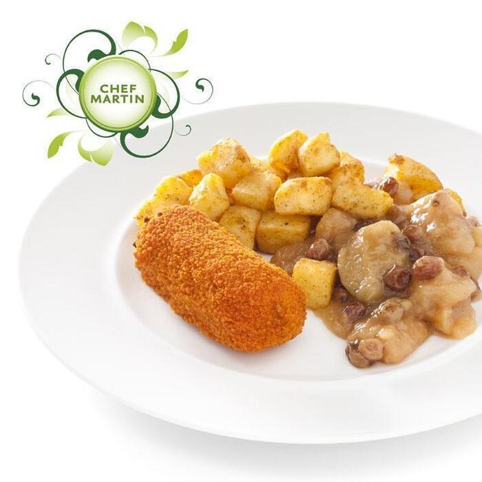 Chef Martin Rundvleeskroket met appelcomp geb aardap (445g)