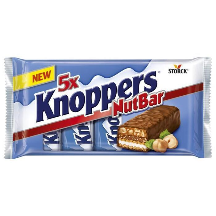 Knoppers Nutbar 5pack 200 g (5 × 200g)