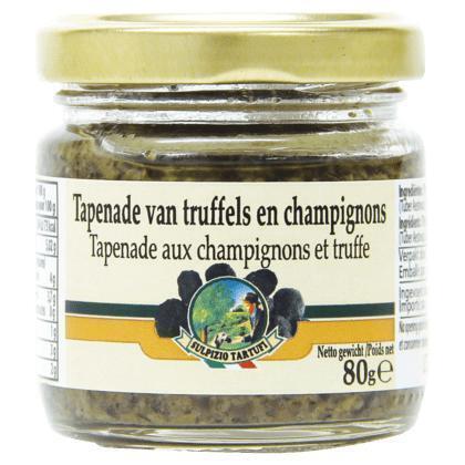 Tapenade van truffels en champignons (80g)