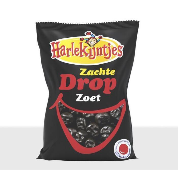 Harlekijntjes Zachte zoete drop (500g)