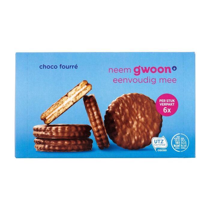 g'woon Choco fourre (180g)