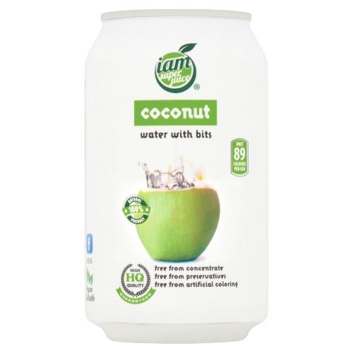 Iam Super Juice Kokosnootwater met Kokosnootpulp 330ml (33cl)