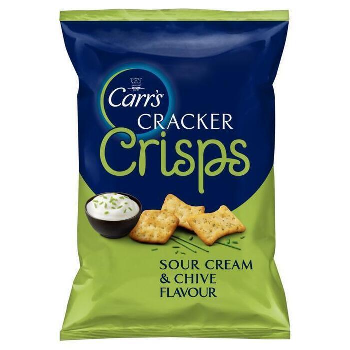 Carr's Crackers crisps sour cream chive (150g)