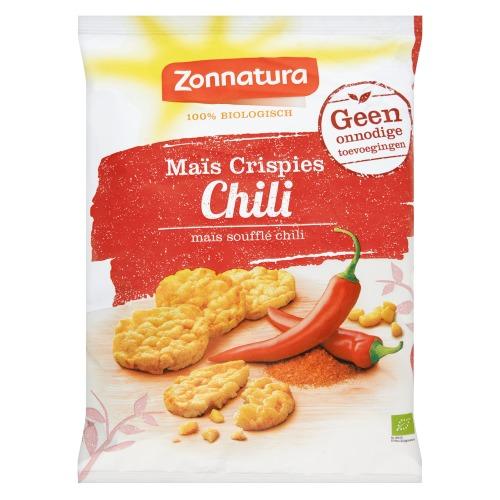 Maïs Crispies Chili (zak, 30g)