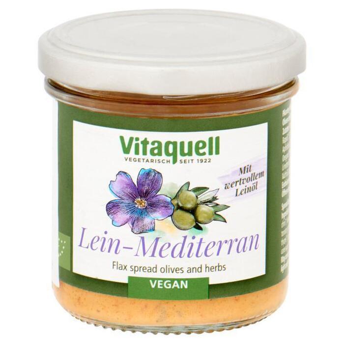 Vitaquell Vegan Paté Mediterraans met Olijven en Kruiden 130 g (130g)