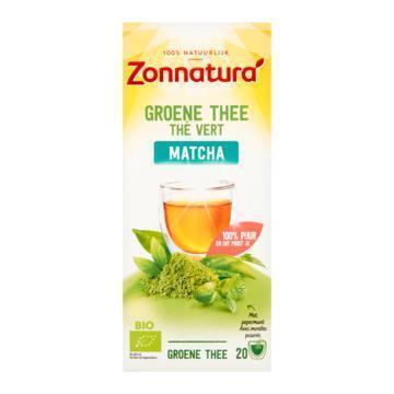 Zonnatura Groene thee matcha (36g)