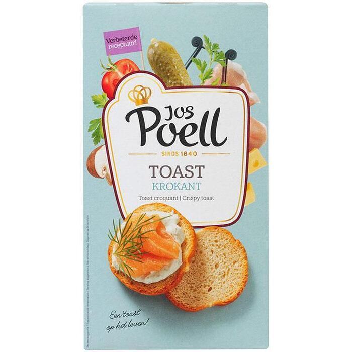 Jos Poell Krokant toast (100g)