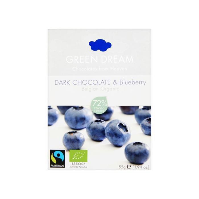 Chocola dark-blueberry 72% (55g)