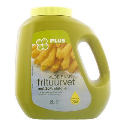 Frituurvet met olijfolie vloeibaar (2L)