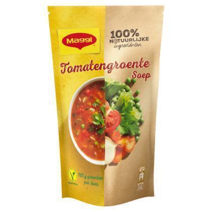 Maggi Soep in zak tomaat groente (0.57L)