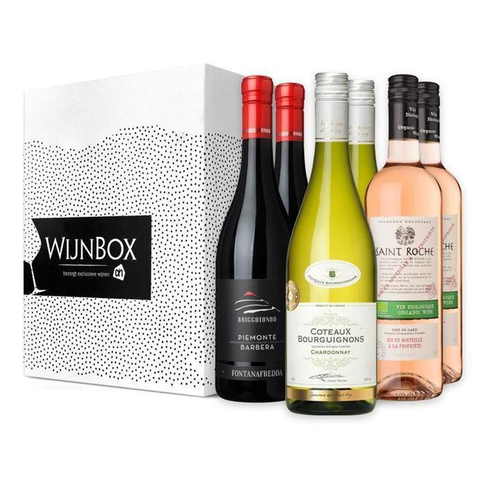 De perfecte trio wijnbox (6 × 4.5L)