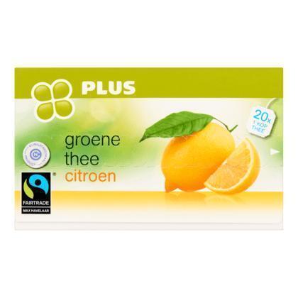 Groene thee met citroen 1-kops (40g)