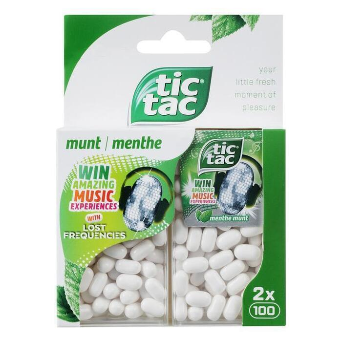 Tic Tac Duo pack mint (2 × 49g)