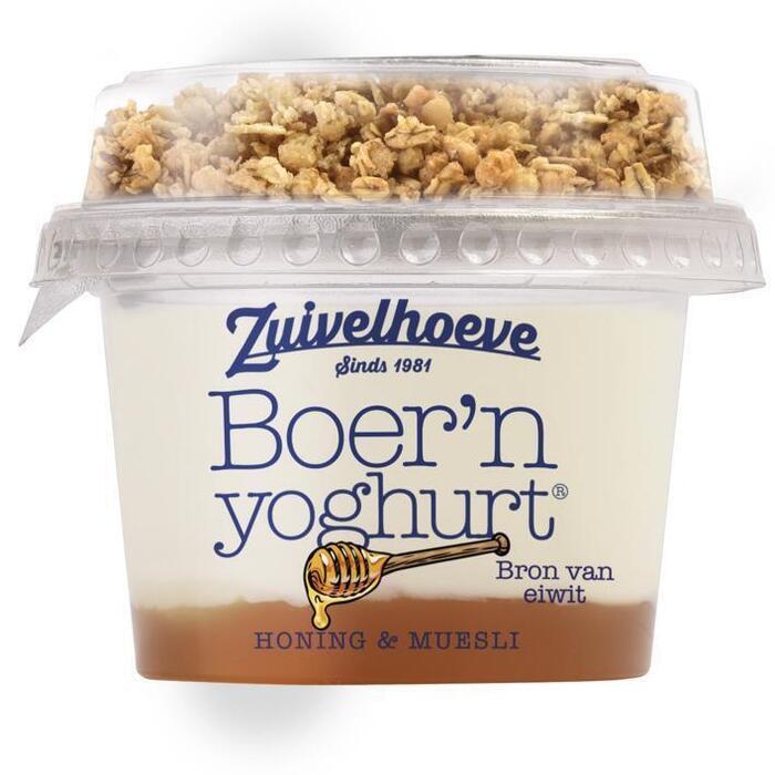 Boer'n muesli honing (bak, 170g)