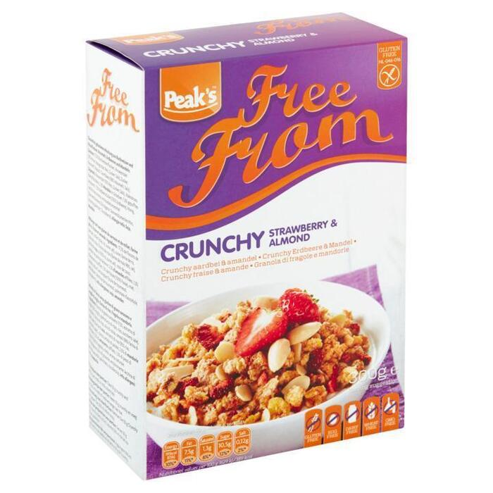 Peak's Free From Crunchy Strawberry & Almond 300g (300g)