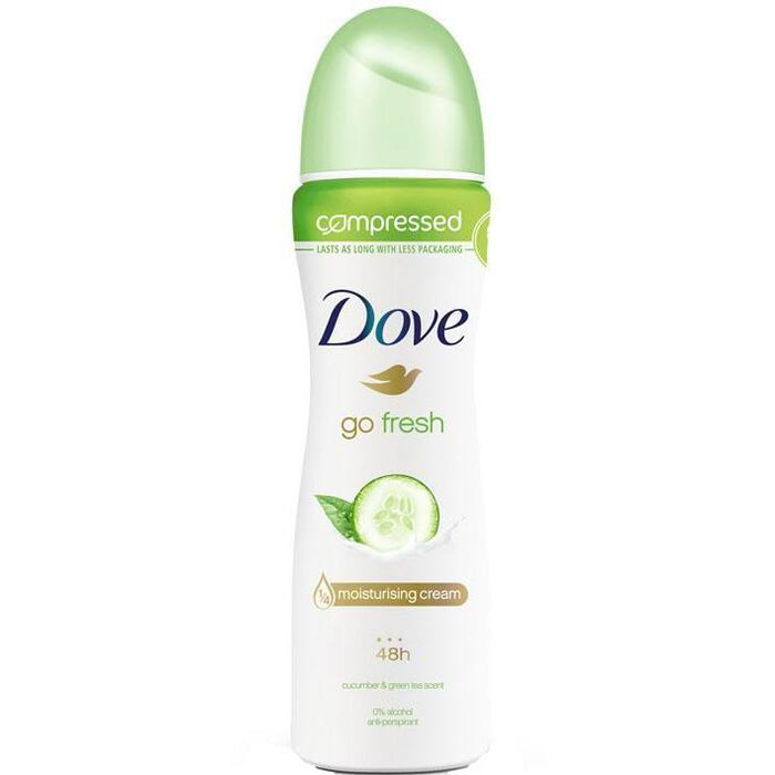 Dove Deodorant spray go fresh cucumber (75ml)