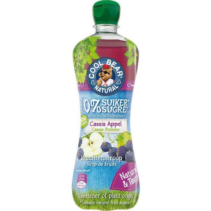 Cool Bear Cassis Appel Vruchtensiroop 700 ml (rol, 70 × 0.7L)