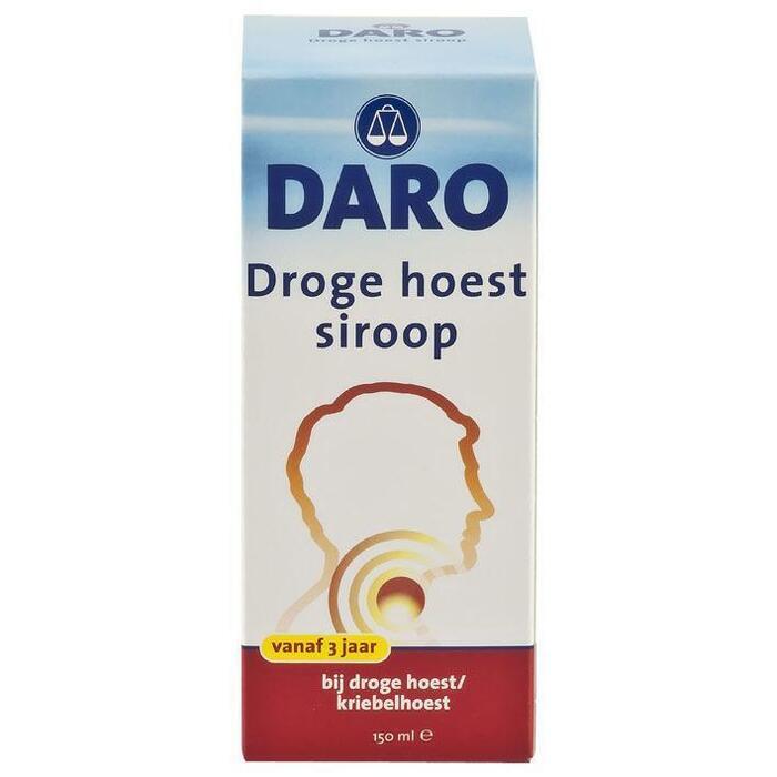 Droge hoestsiroop (150ml)