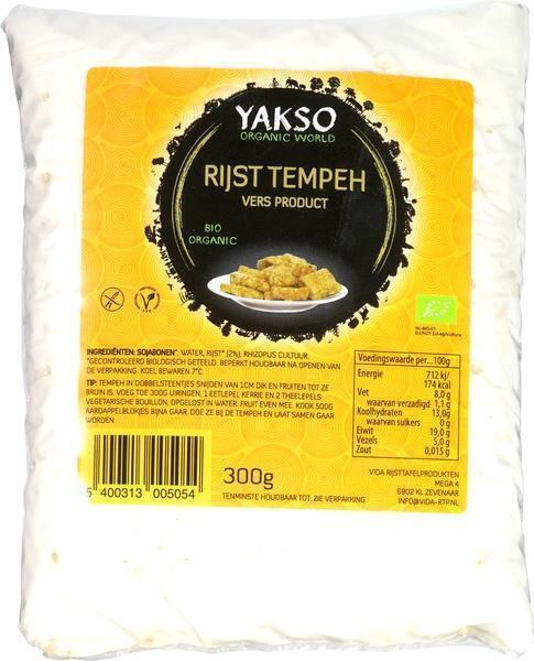 Rijst Tempeh (300g)