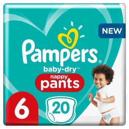 Pampers Baby dry pants keysize maat 6