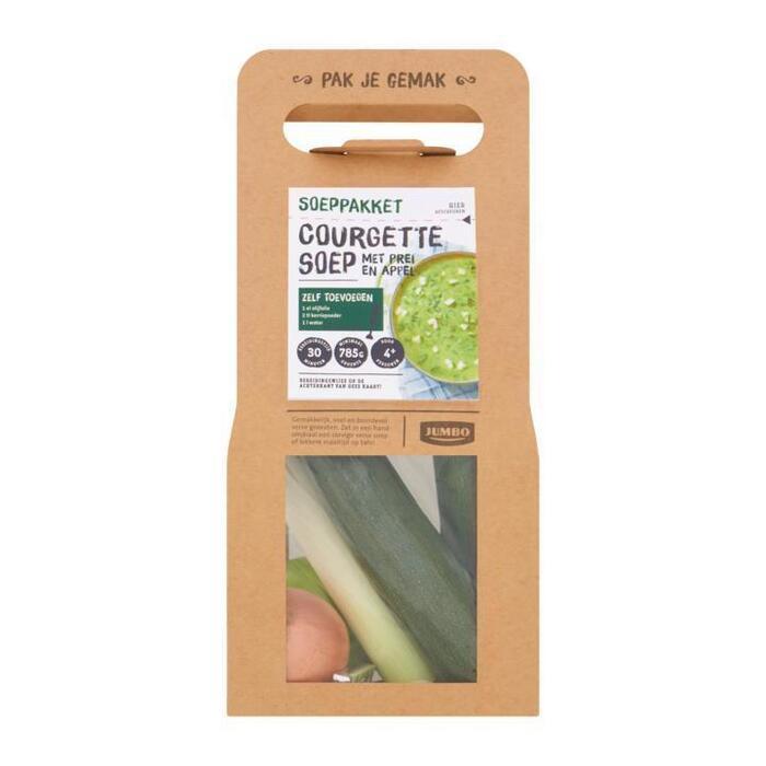 Jumbo Soeppakket Courgettesoep met Prei en Appel 950g (950g)
