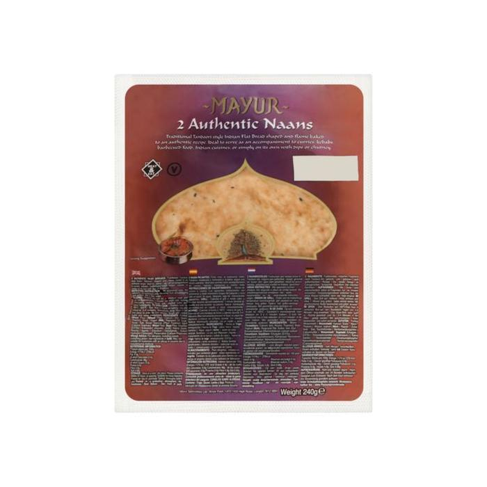 Mayur 2 Authentic Naans 240g (240g)