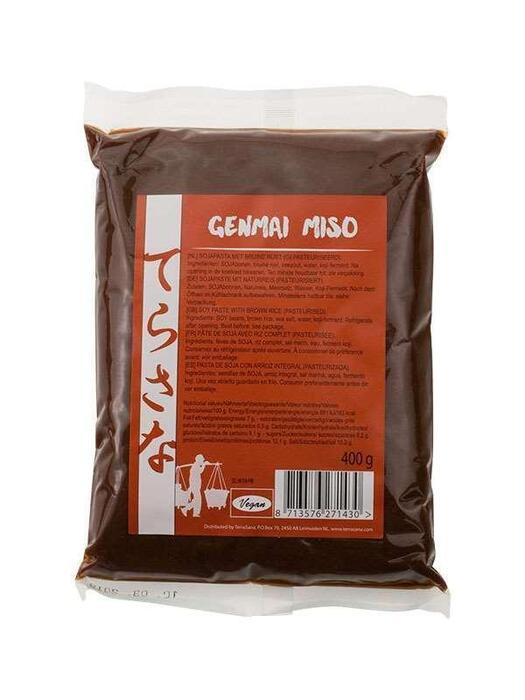 Genmai miso (rijst) TerraSana 400g (400g)