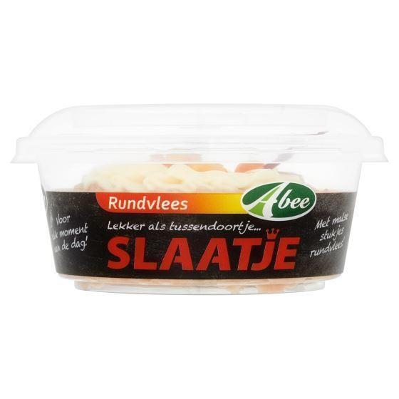 Slaatje Rundvlees (kuipje, 140g)