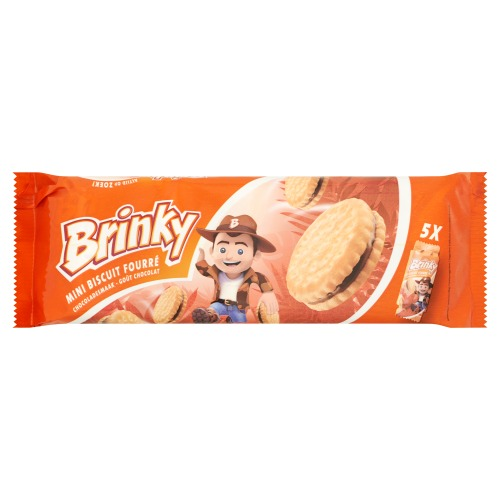BRINKY MINI BISCUITS FOURRES CHOCO (188g)